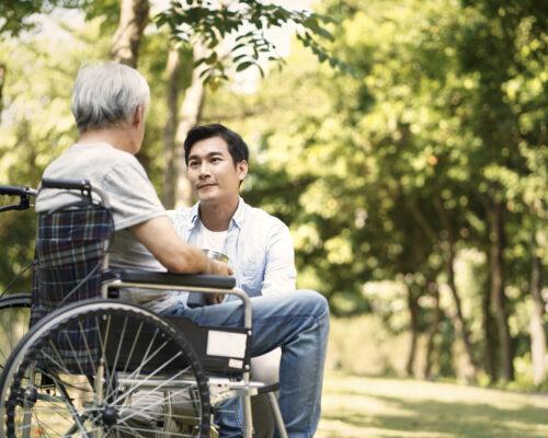 為人子女長到五十歲如何面對他的父母?③-孝順